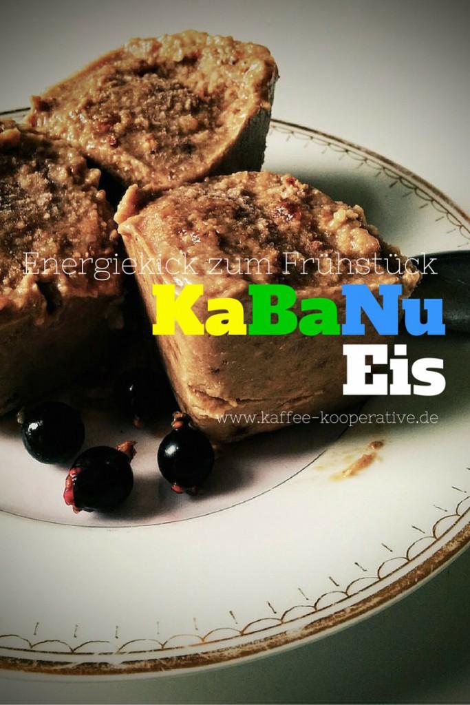 Rezept KaBaNu-Eis mit Kaffee