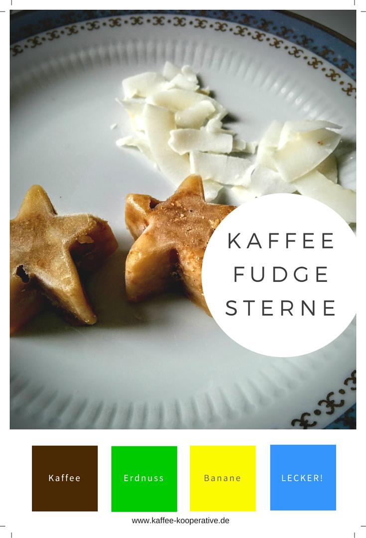 Kaffee-Fudge-Sterne