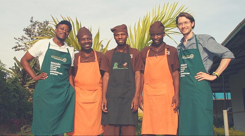 Die Röstmeister der Kaffee-Kooperative