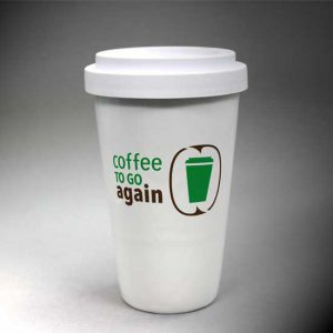 Coffee to go again-Becher