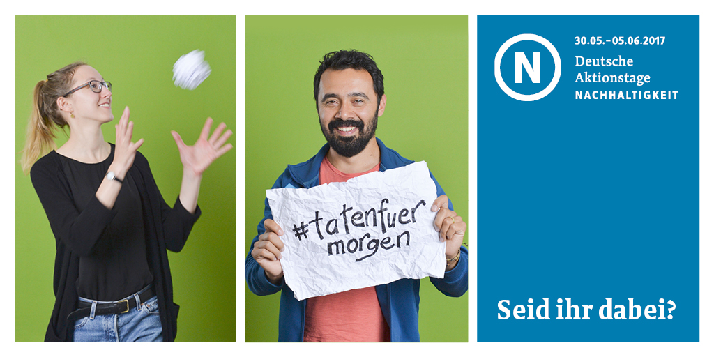 #tatenfuermorgen – Wir sind dabei!