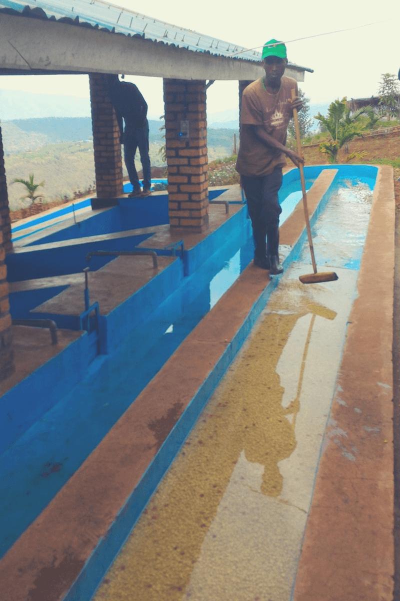 Nassaufbereitungsanlage Musasa Dukundekawa