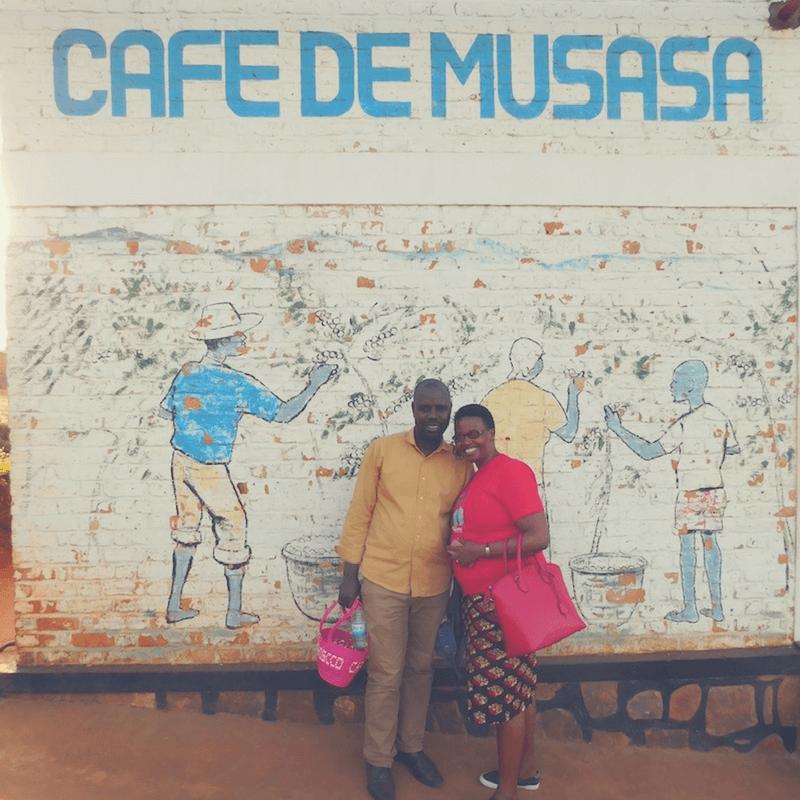 Kaffee Kooperative Angelique und Andrew Cafe de Musasa