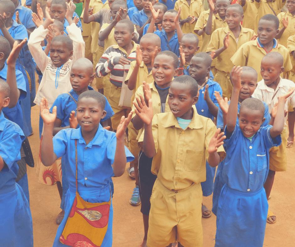 Kaffee Kooperative ruanda schule applaus