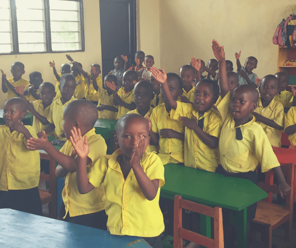 Kaffee Kooperative ruanda schule klasse