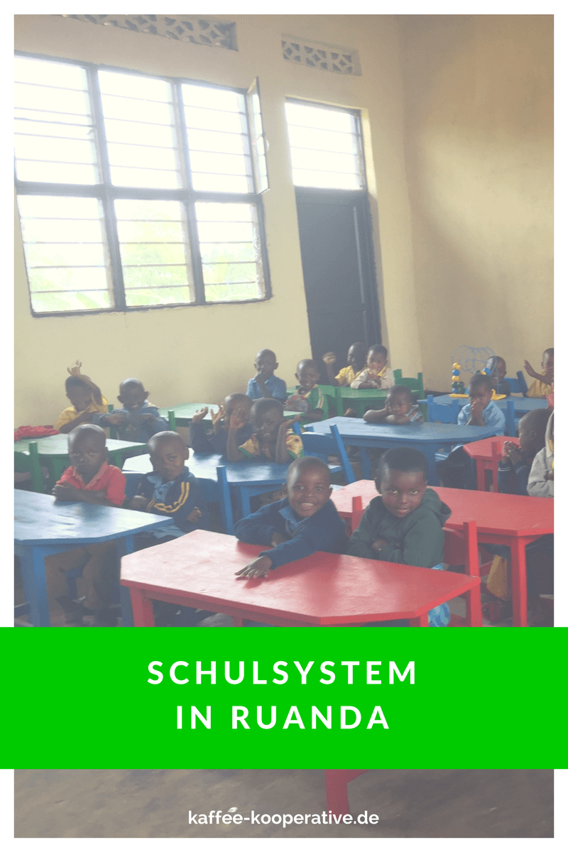 Kaffee Kooperative schule ruanda pinterest