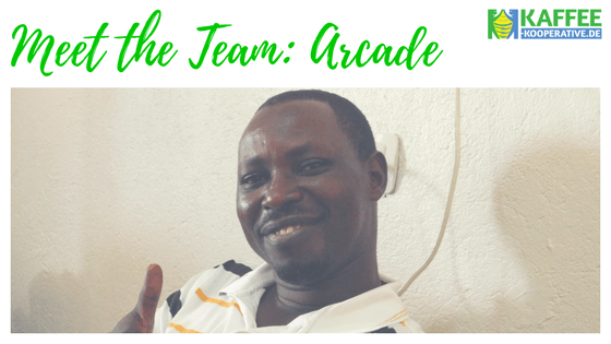 Meet the Team: Arcade Ntihinyurwa