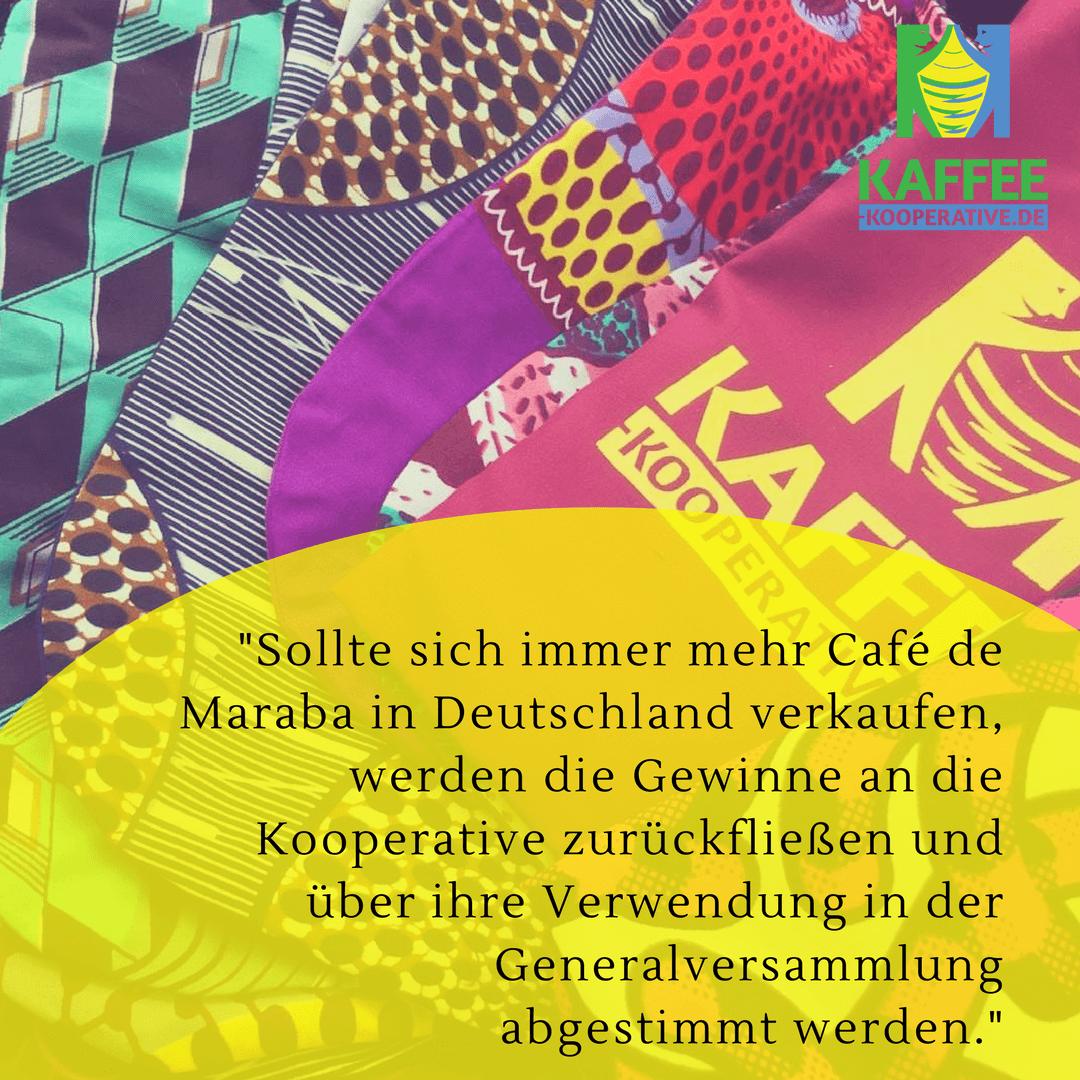 Kaffee Kooperative verkauf deutschland