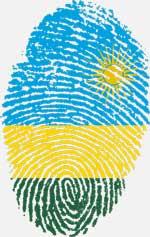 Kaffee Kooperative Ruanda Fingerabdruck