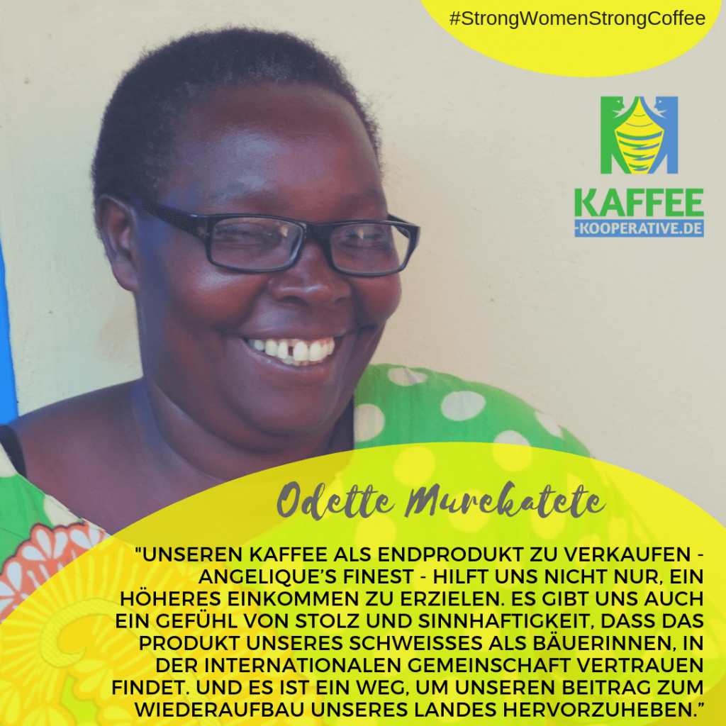 Kaffeebäuerin Odette Murakatete