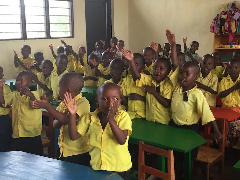 Kaffee Kooperative kinder schule ruanda