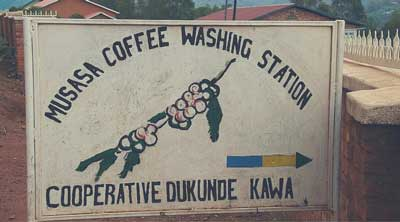 Kaffee Kooperative Washing Station