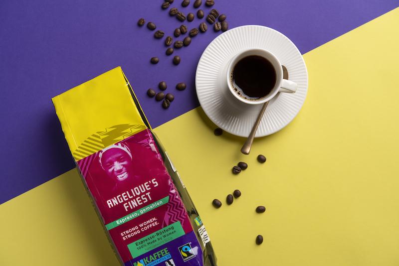 Kaffee Kooperative JF17401 angeliques finest Kopie