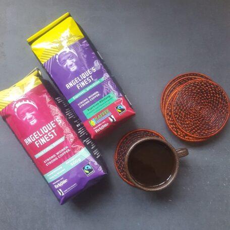 Kaffee Kooperative Untersetzer 2 1